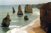 The Twelve Apostles aan de Great Ocean Road
