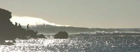 De oceaan ten zuiden van Cairns