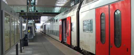 Met de NMBS, de Belgische Spoorwegen, op vakantie in Belgie