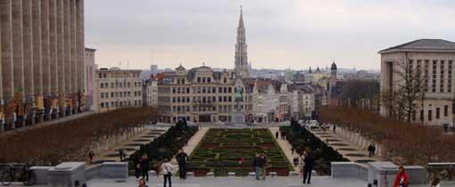 Uitzicht op Brussel