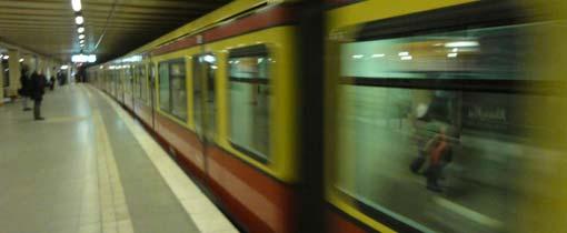 De S-Bahn brengt je razendsnel door heel Berlijn