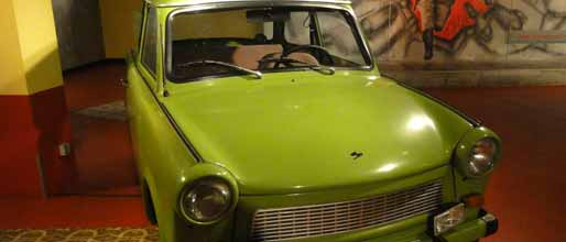 Een Trabant in de Story of Berlin