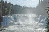 Dawson Falls in Wells Gray Park, British Columbia, Canada