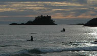Long Beach bij Tofino op Vancouver Island