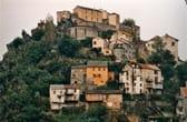 De citadel van Corte op Corsica