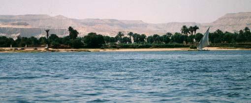 De Nijl: varen langs de Oudheid