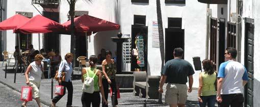Santa Cruz de La Palma is de gemoedelijke hoofdstad van het Canarische eiland La Palma