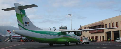 Welkom op La Palma - Het vliegveld van La Palma
