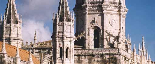 Het beroemde Mosteiro dos Jeronimos klooster in Lissabon