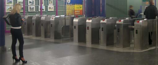 De metro van Warschau
