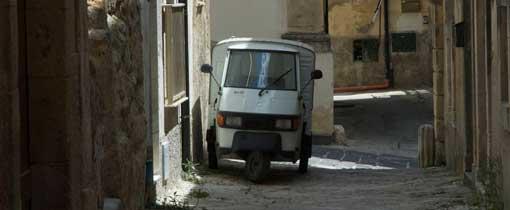 Een zijstraatje in Palermo