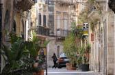 Siracusa aan de oostkust van Sicilie