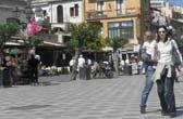 Pleintje Taormina op Sicilie bezoeken