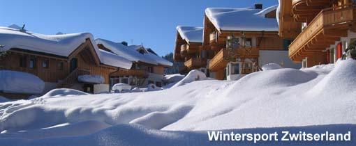 Zwitserland biedt skiërs, snowboarders en sneeuwwandelaars naast prachtige pistes ook veel landschappelijk schoon