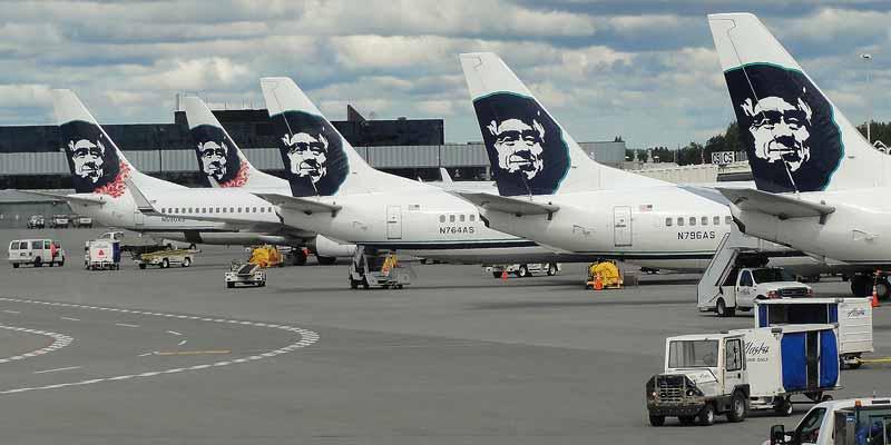 Het vliegtuig is het belangrijkste vervoermiddel in het uitgestrekte Alaska