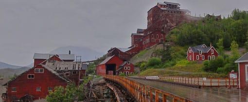 McCarthy / Kennicott. Kennecott Copper Mine