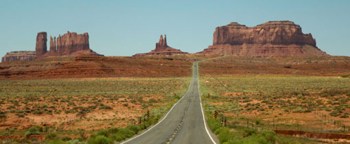 Monument Valley. Once upon a time in the West