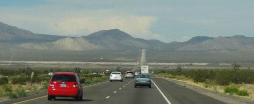 Onderweg naar Las Vegas