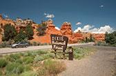 Dixie National Forest. Het grootste bosgebied van Utah