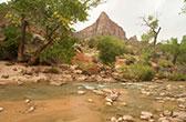 Zion National Park. Een van de mooiste NP in Zuid Utah