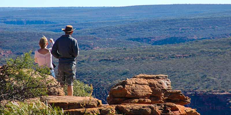 Met Crocodile Dundee op stap in de Blue Mountains, omgeving Sydney