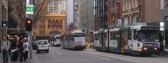 Het Victoriaanse treinstation in Melbourne
