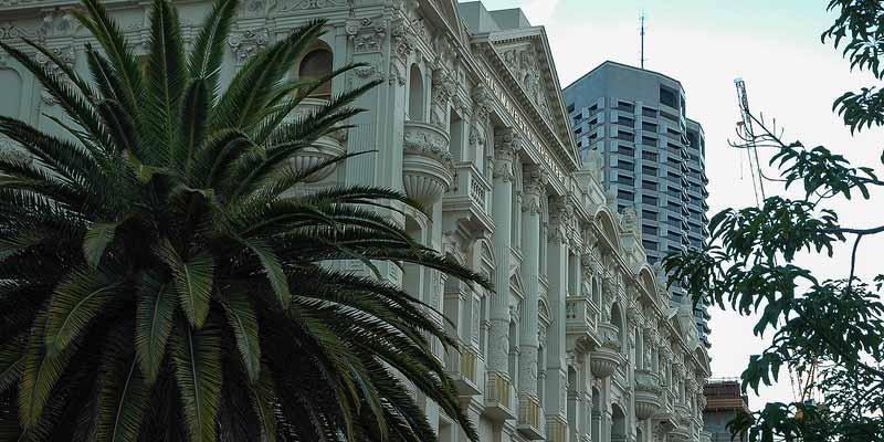 Perth, hoofdstad van deelstaat Western Australia