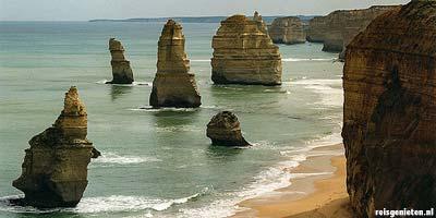 Vakantie deelstaat Victoria. Bezienswaardigheden zuidoost Australie