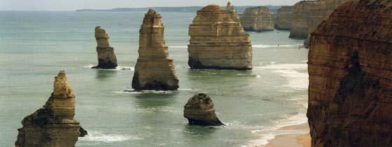 Vakantie in deelstaat Victoria. Bezienswaardigheden zuidoost Australie