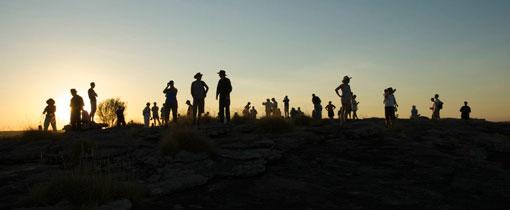 De Outback: het onmetelijke binnenland van Australie. The Red Centre: het hart van Australie