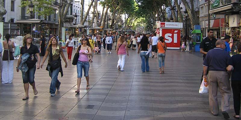 Flaneren op de Ramblas, de beroemdste straat van Barcelona