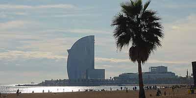 Barceloneta. Barceloneta en het strand van Barcelona