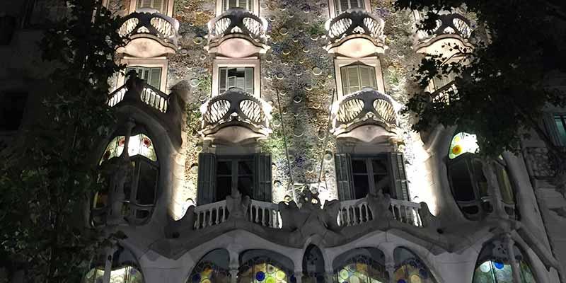 Casa Batlló. Het huis der geeuwen