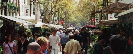 De Ramblas, de beroemdste straat van Barcelona