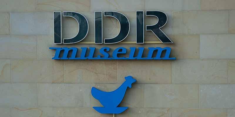Het DDR Museum en restaurant in Berlijn
