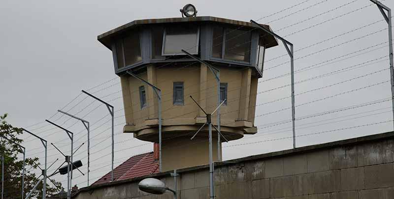 Stasi gevangenis in voormalig Oost-Berlijn