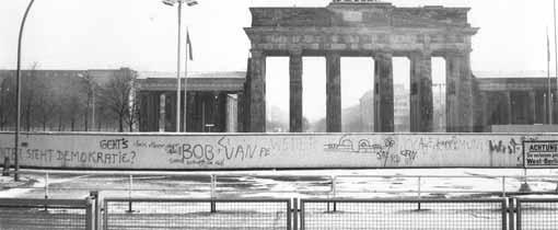Acht verschillende muren. De Berlijnse Muur is uniek, of toch niet?
