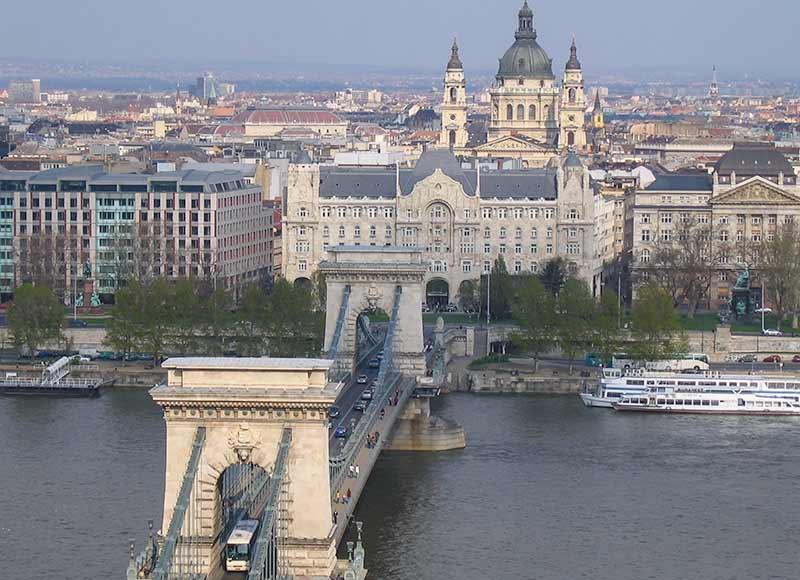 Boedapest, de hoofdstad van Hongarije
