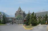 Het plaatsje Banff in British Columbia is een goede plek om de Rocky Mountains te bezoeken in Canada