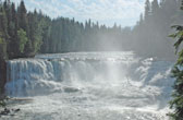Dawson Falls in Wells Gray Park, British Columbia, Canada