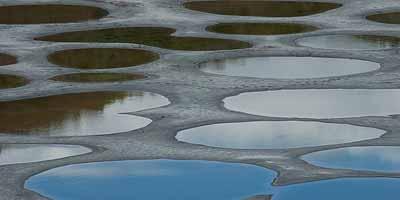 Kootenays. Het zuidoosten van British Columbia