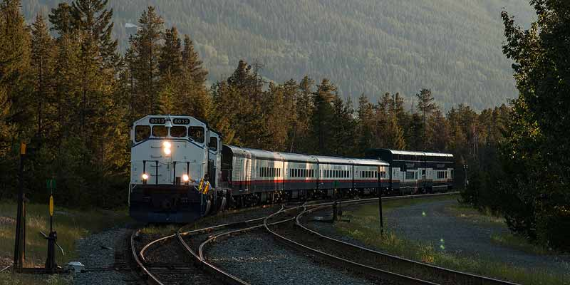 Met de trein door Canada: The Rocky Mountaineer