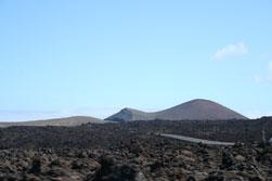 Het ruige vulkaanlandschap van Lanzarote