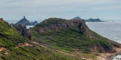 Noord- en oostkust van Corsica. Uitstapjes en bezienswaardigheden