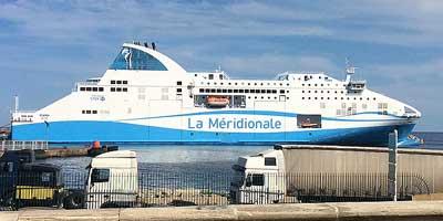 De overtocht. Met de boot naar Corsica. De snelste reis naar Corsica