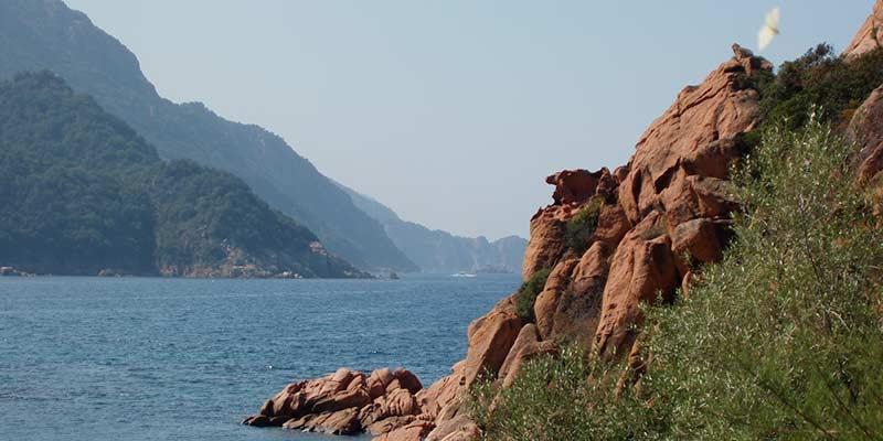 De grillige Corsicaanse kust