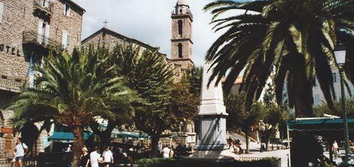 Mooiste steden en dorpen. Bezienswaardigheden Corsica