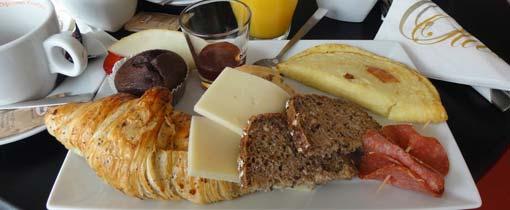 Een lekker vers Deens ontbijtje