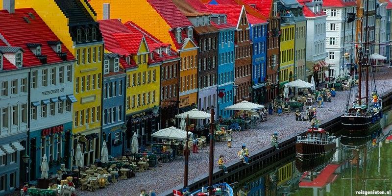 De beroemde Nyhavn in Kopenhagen