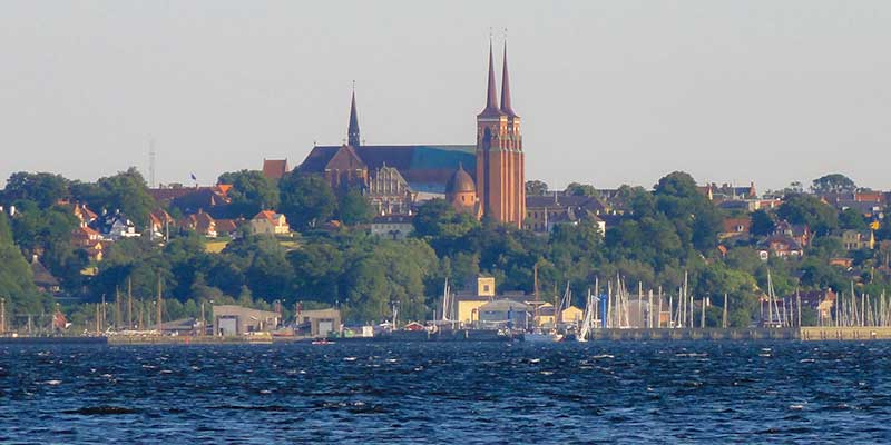 Roskilde op Seeland, Denemarken